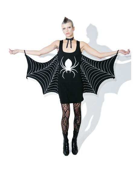 Walkin' In Yer Spiderwebs Dress