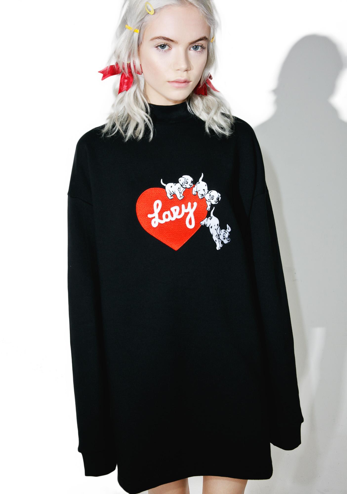 Lazy Oaf X Disney 101 Dalmatians Puppy Love Sweatshirt