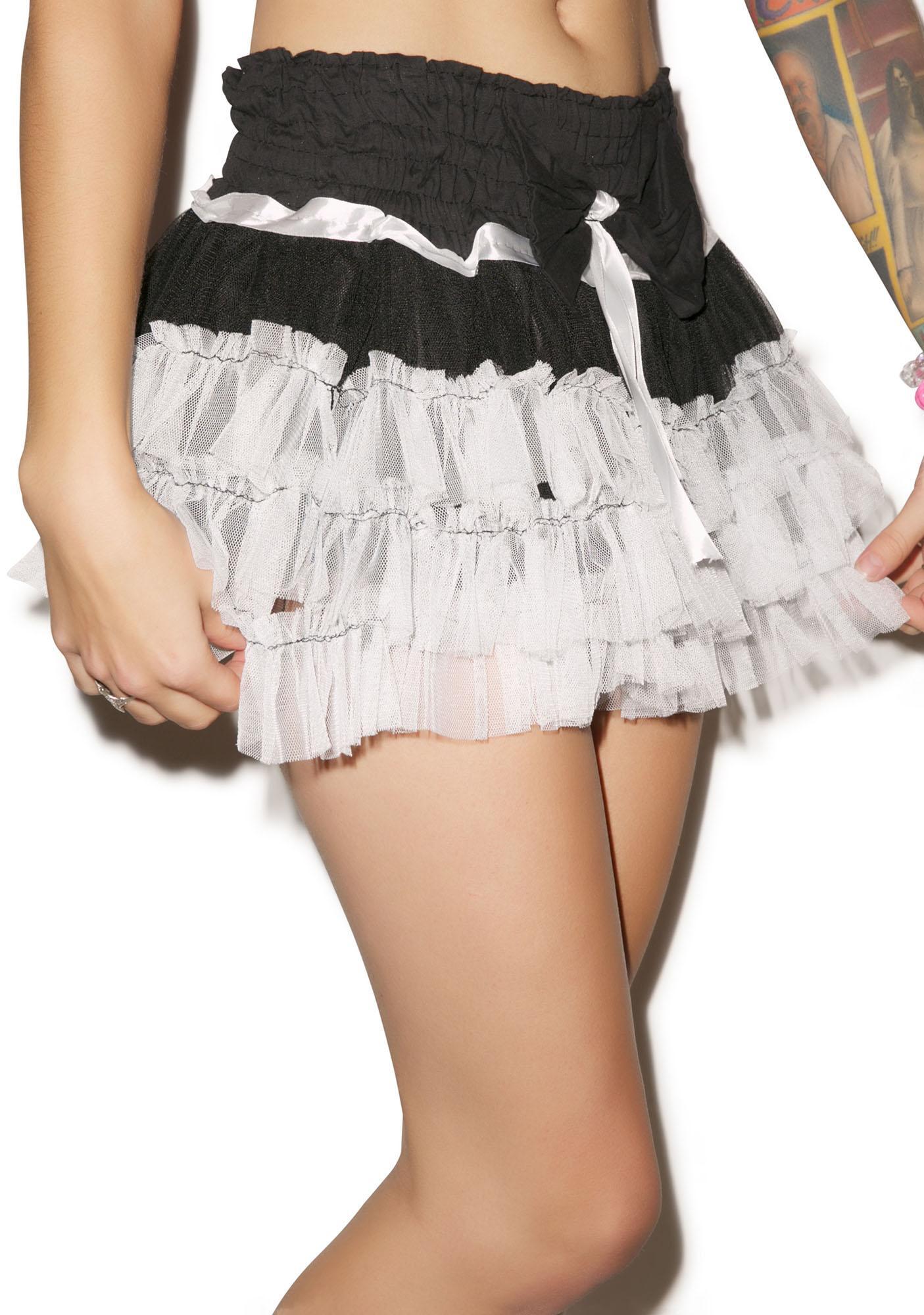 Fall from Grace Ruffle Skirt