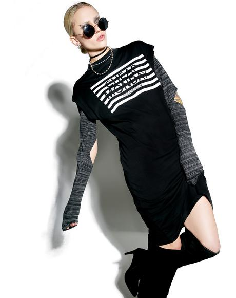 Stripe Logo Capsule Dress