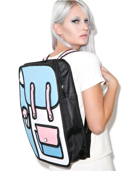 2 Delusional Cartoon Backpack