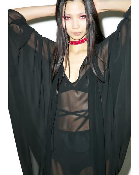 Death Wish Batwing Dress
