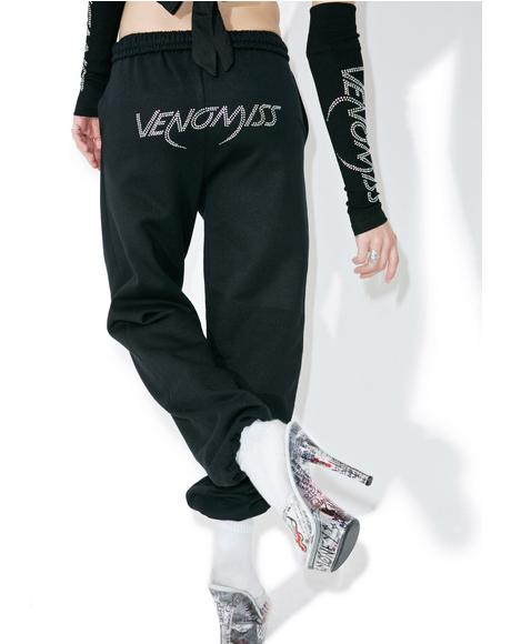 Crystal Logo Sweatpants