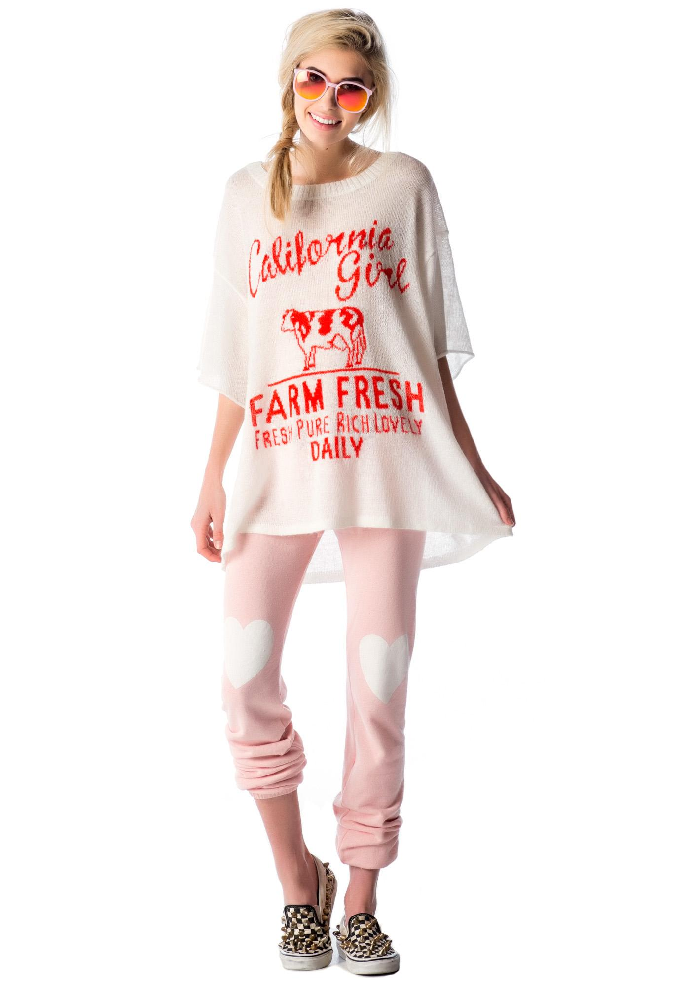 Wildfox Couture Farm Fresh Lake House T