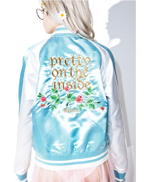 Pretty On The Inside Varsity Jacket