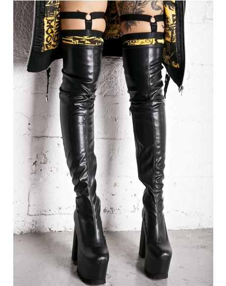 Nightcap Thigh-High Boots