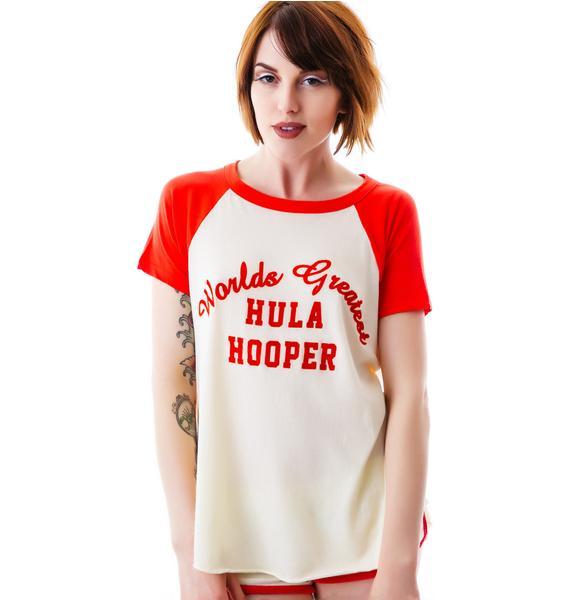 Wildfox Couture Hula Hooper Retro Raglan