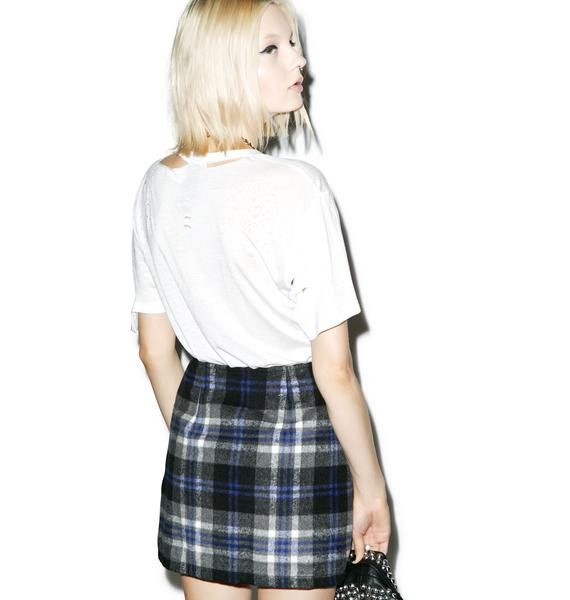 Mink Pink Miss The Bus Skirt