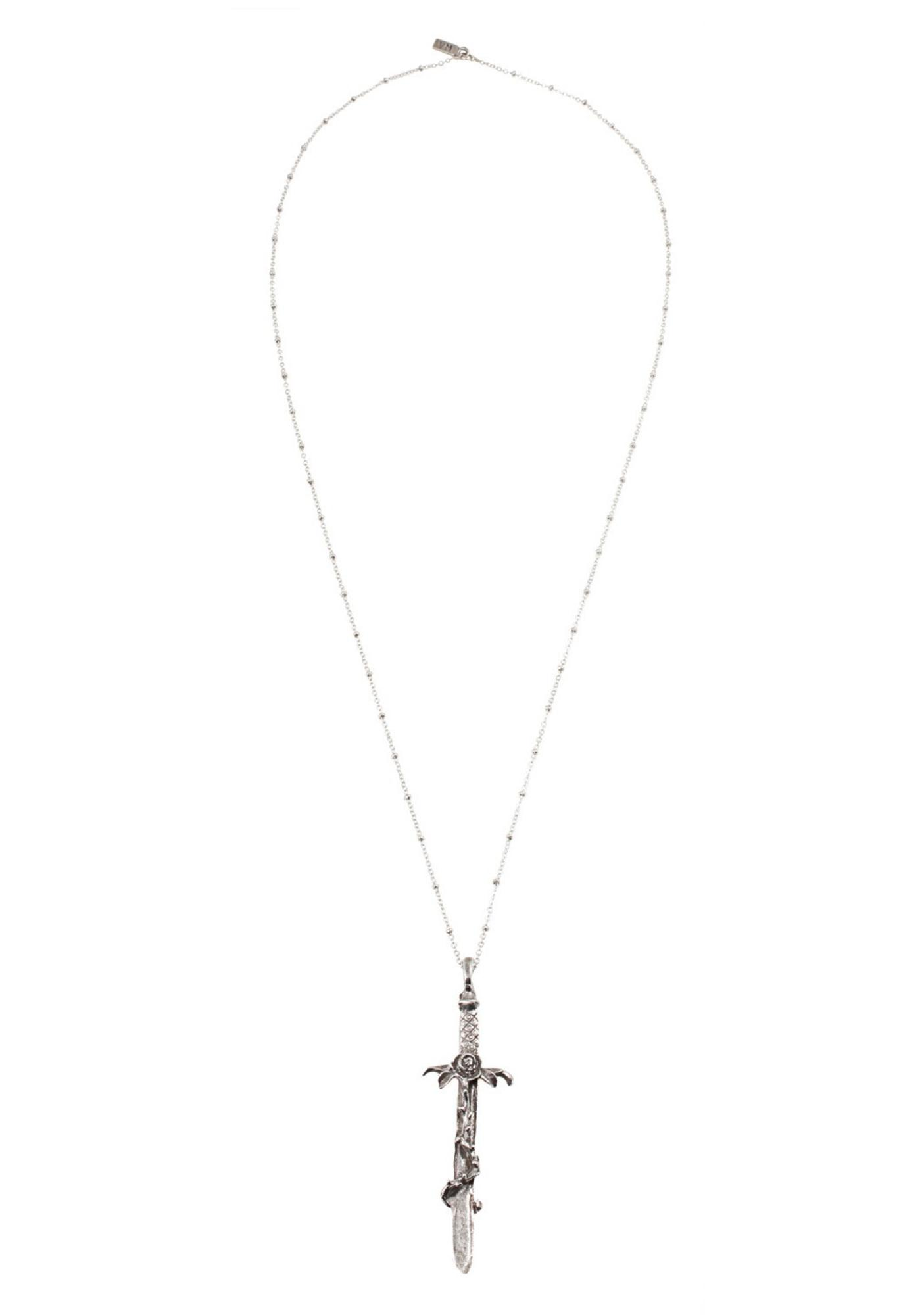 Vanessa Mooney Crimson Cross Necklace