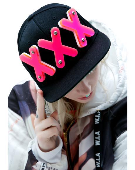 XXX Lettered Snapback