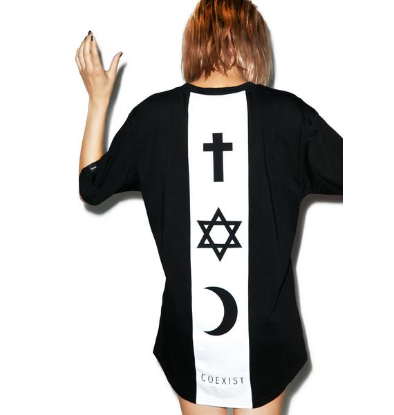 Defend Paris Coexist Backbone Tee