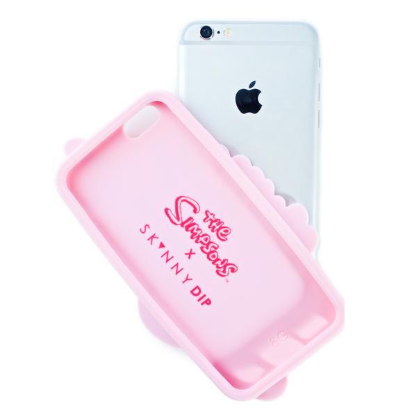 Skinnydip Call Me Silicone iPhone Case