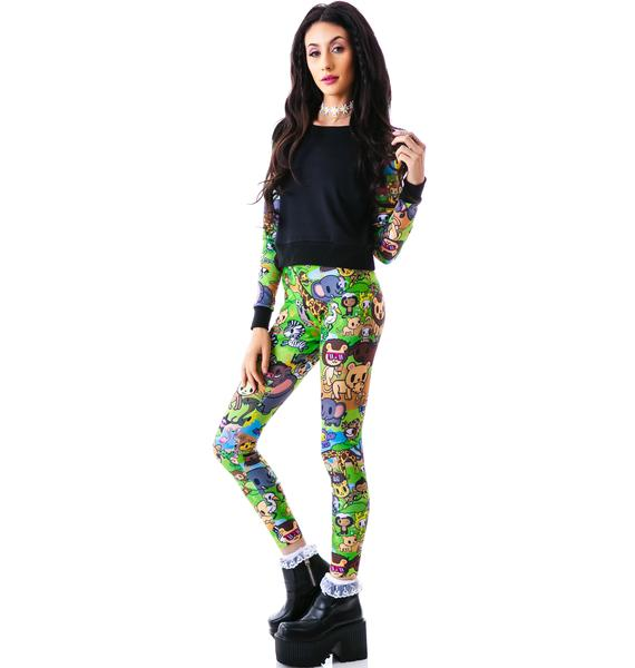 Japan L.A. Japan L.A. x Tokidoki Savannah Leggings