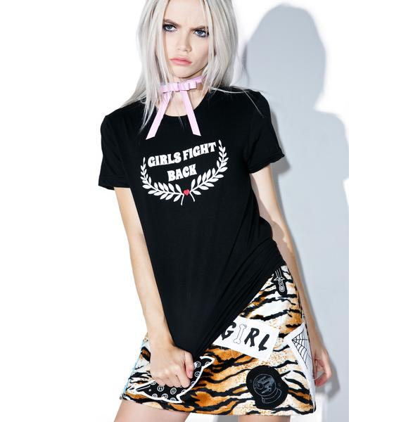 Valfré Girls Fight Back Baby Tee