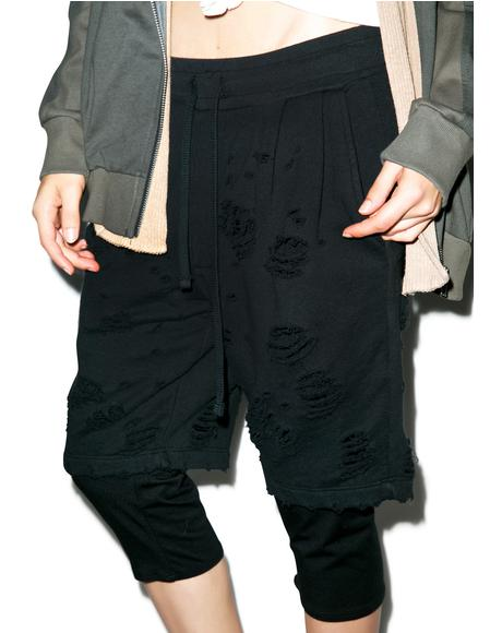 Destructor Double Layered Shorts
