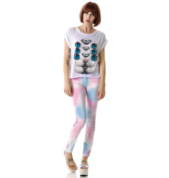Wildfox Couture Minds Eye Jagged Edge T