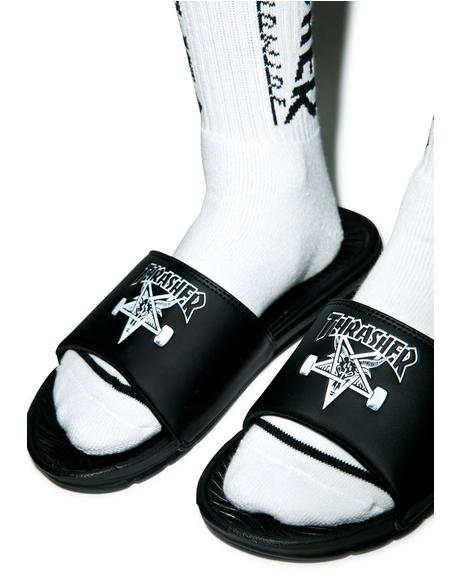 X Thrasher Slide Sandals