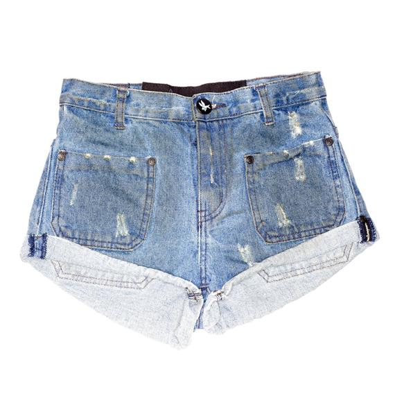 One Teaspoon Sailors Denim Shorts