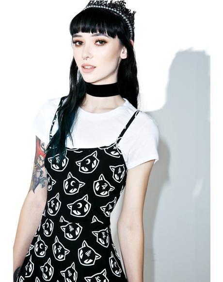 Purr Grunge Skater Dress