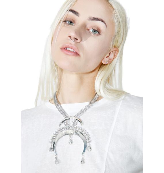 Crescendo Crystal Necklace