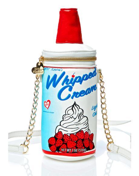 Whipped Cream Crossbody Bag
