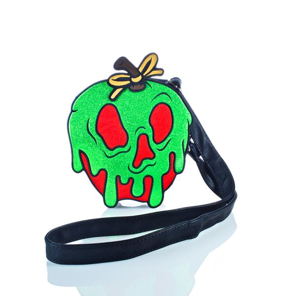 Loungefly X Disney Poison Apple Crossbody Bag