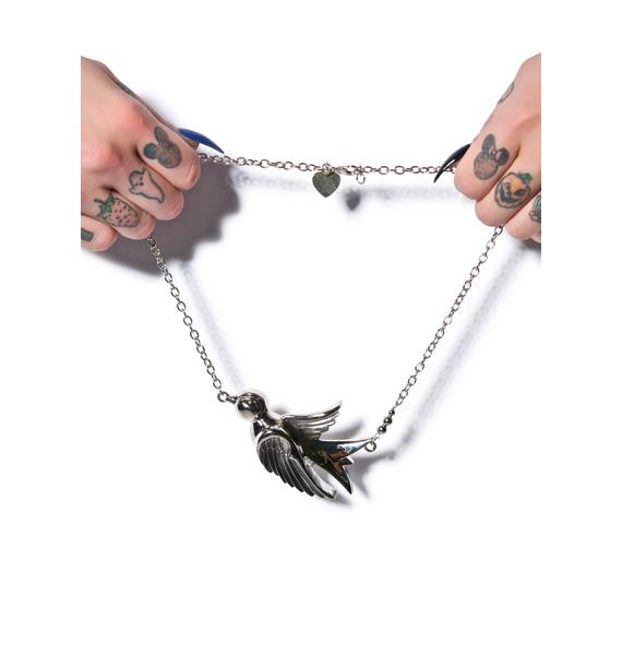 Large Sparrow Necklace