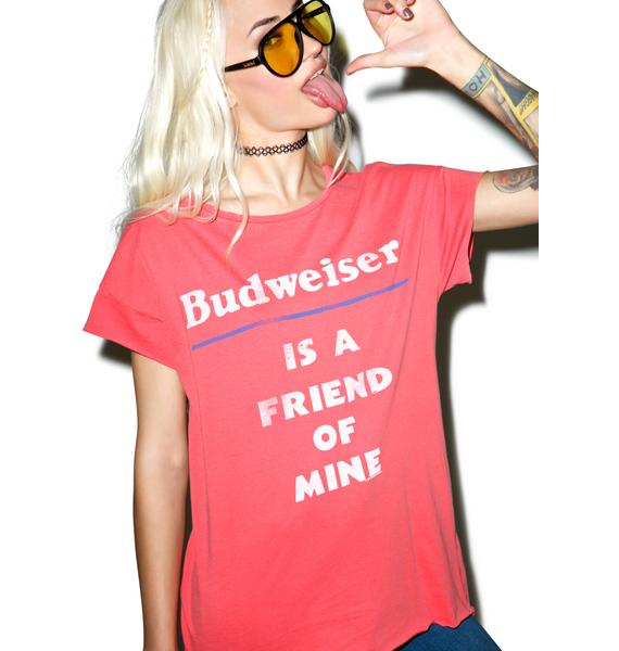 Junk Food Clothing Budweiser Tee