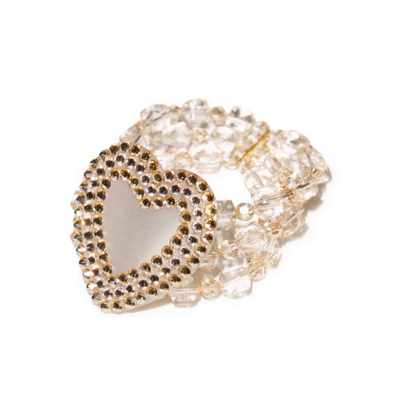 Tarina Tarantino Electric Heart Bracelet