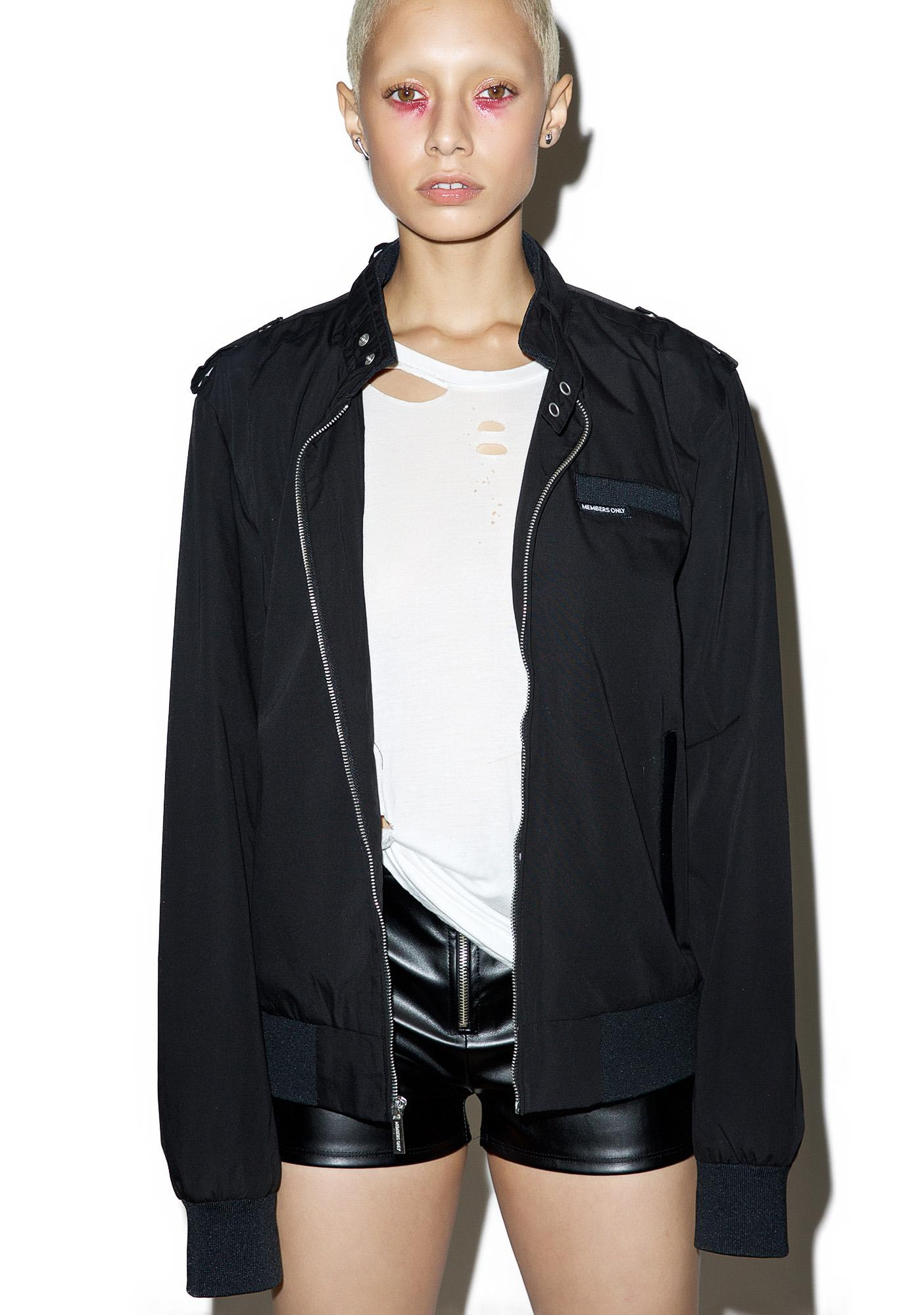 Members Only The Classic Iconic Racer Jacket