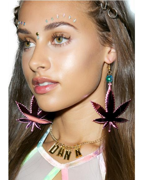 Irie Weed Earrings