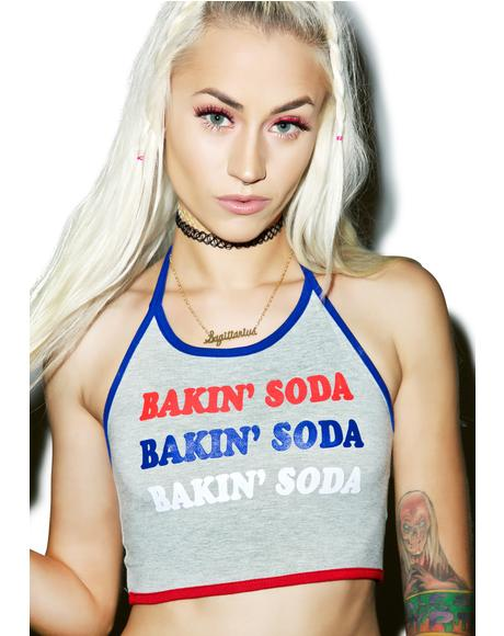 Bakin' Soda Halter Top