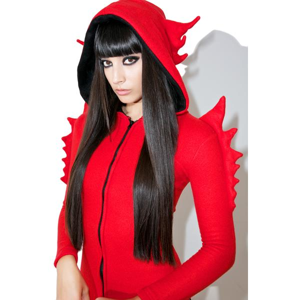 She Devil Horny Hood Costume