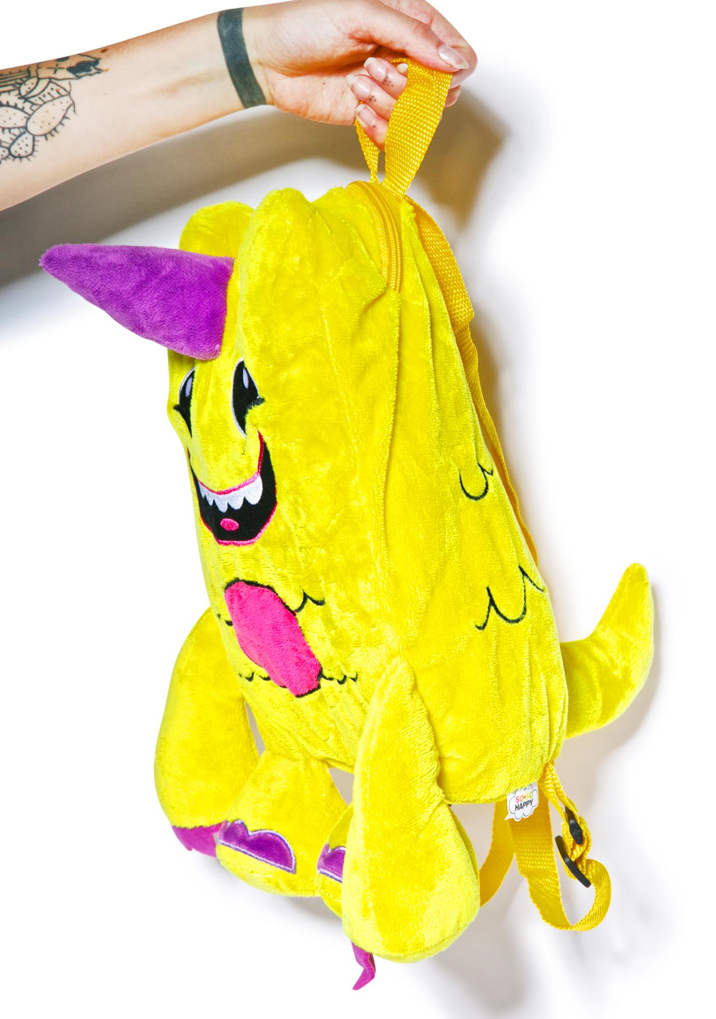 Iron Fist Lulu Plush Backpack