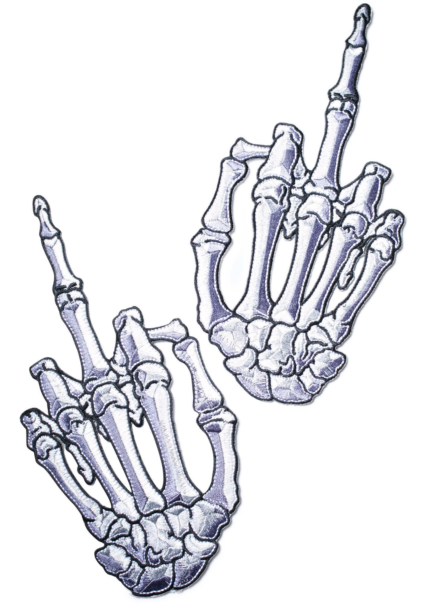 Kreepsville 666 Finger Bone Patch