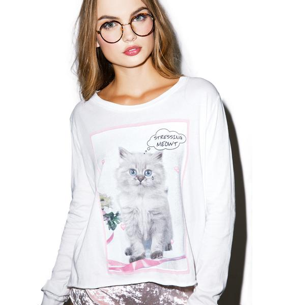 Wildfox Couture Stressin' Major Tee