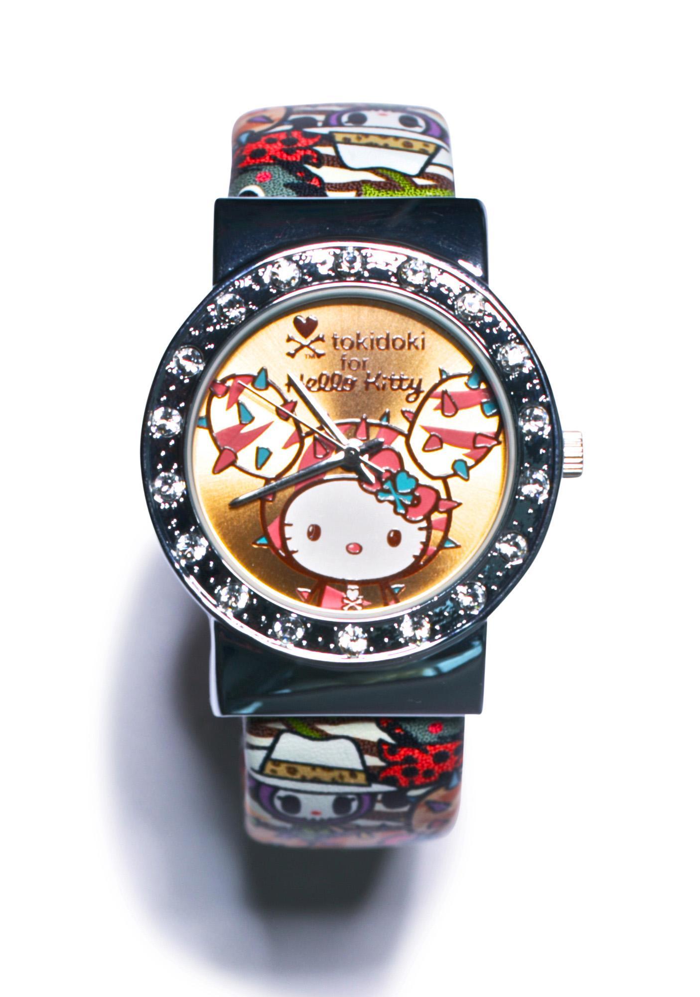 Sanrio Tokidoki X Hello Kitty Summer Safari Wrist Watch