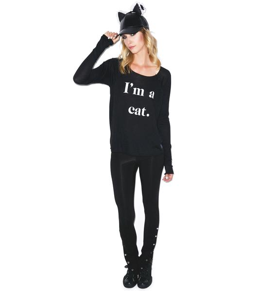 Wildfox Couture Guess What I Am Cozy Raglan
