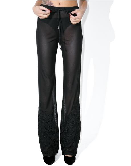 Garden Of Eden Sheer Pants