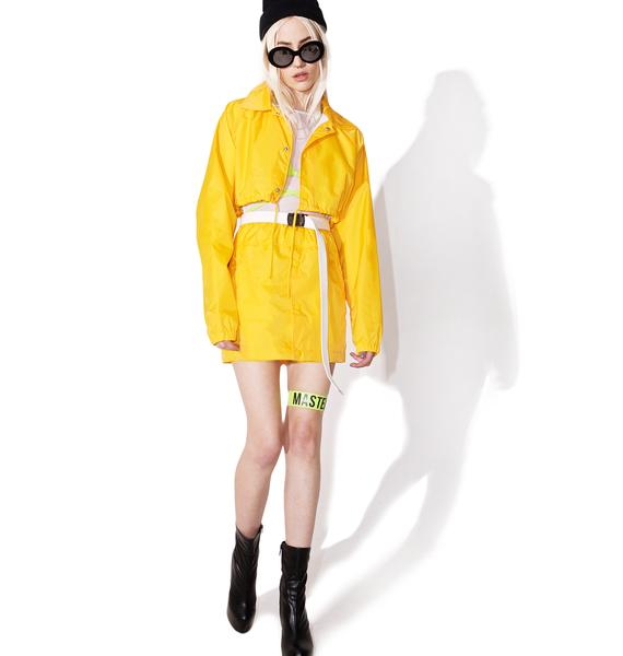 Cab Confessions Cropped Jacket