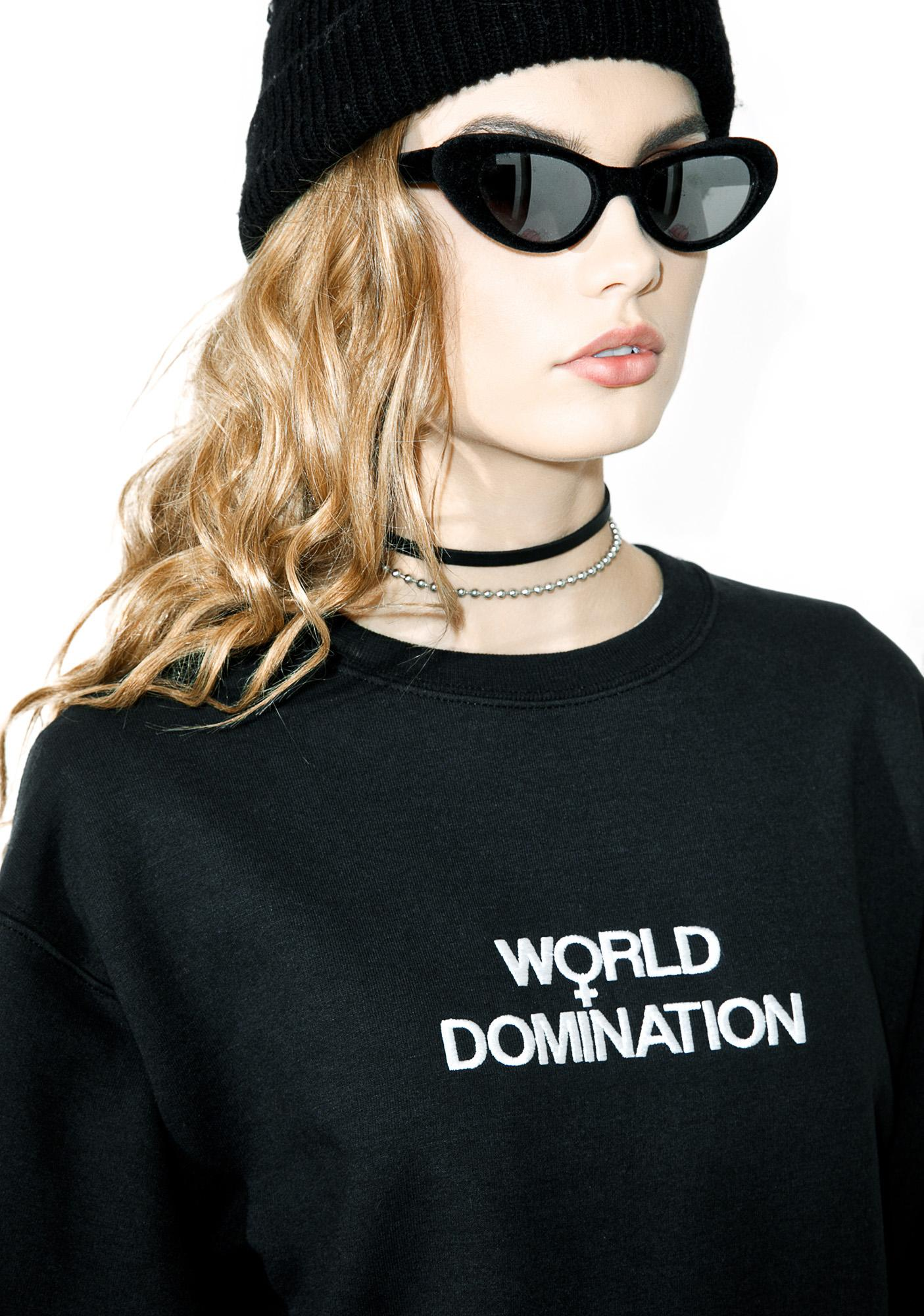 Petals and Peacocks Women's World Sweatshirt