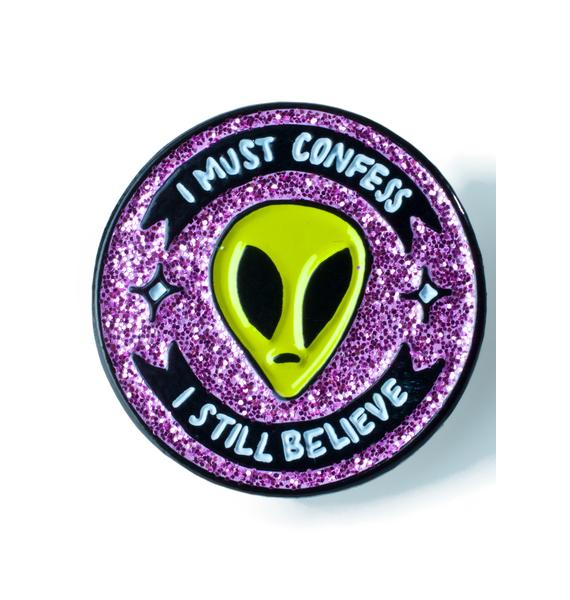 Band of Weirdos I Must Confess I Still Believe Pin