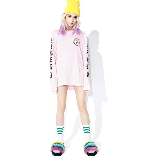 Rebel8 Immortals Pink Long Sleeve Tee