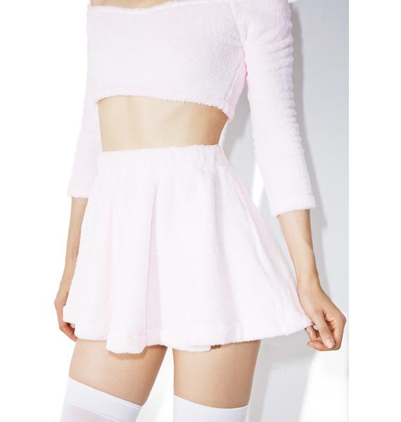 Melonhopper Candy Fluff High-Waisted Skirt