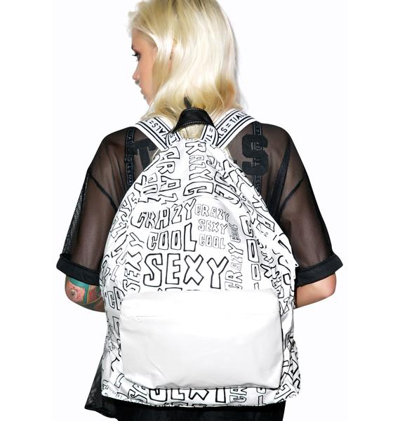 This Is A Love Song Crazy Sexy Cool Backpack