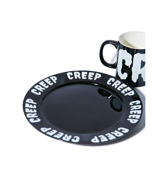 Sourpuss Clothing Creep Plate