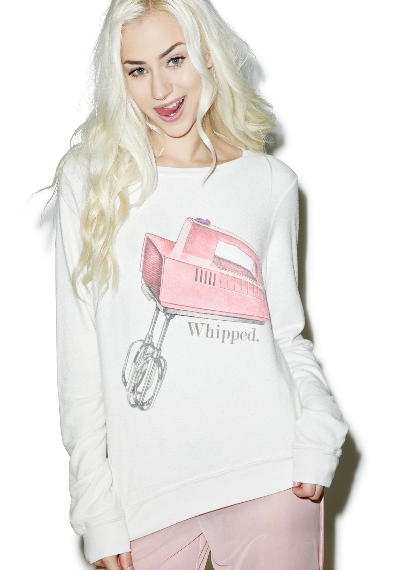 Wildfox Couture Whipped Baggy Beach Jumper