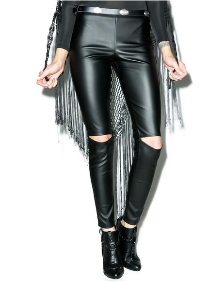 Donda Cut-Out Leggings
