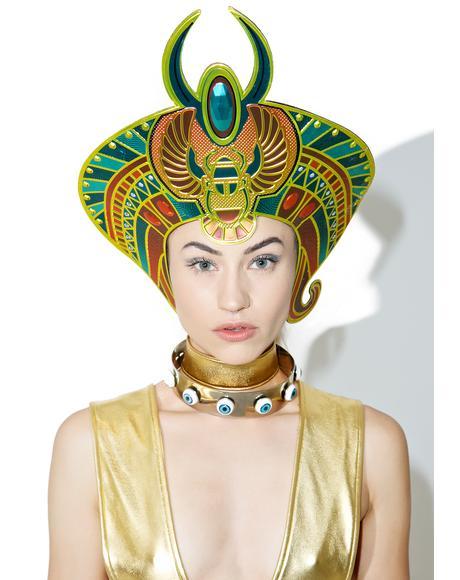 Scarab Queen Headpiece