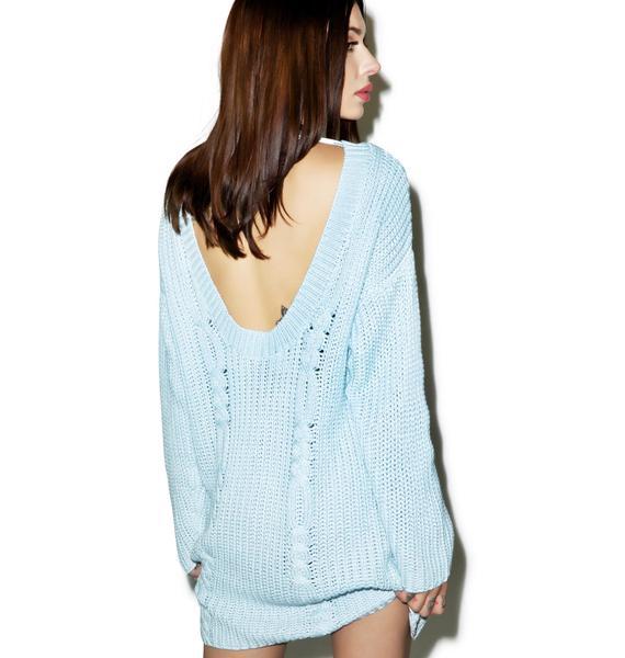 Somedays Lovin Ralphie Cable Knit Dress